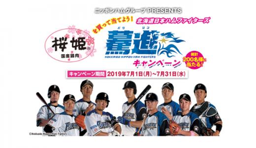 [ニッポンハム] 桜姫を買って当てよう!驀進キャンペーン | 2019年7月31日(水) まで