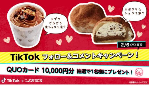 [ローソン] 「TikTok」フォロー&コメントキャンペーン | 2020年2月6日(木)23:59 まで