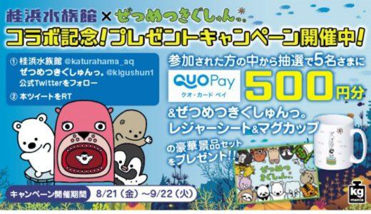 [KADOKAWA] 桂浜水族館×ぜつめつきぐしゅんっ。こらぼ記念!プレゼントキャンペーン | 2020年9月22日(火) まで