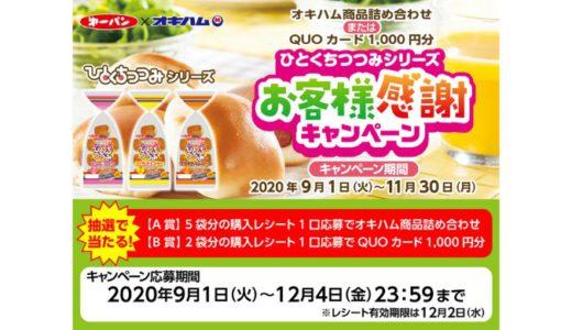 [第一パン] ひとくちつつみシリーズお客様感謝キャンペーン | 2020年11月30日(月) まで